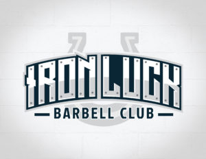 Iron Luck Barbell Club Logo