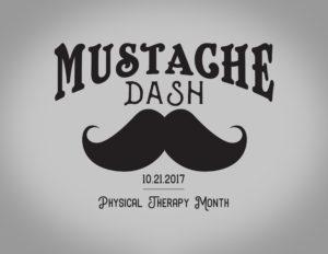 Mustache Dash 5k Logo