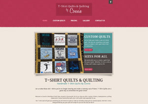 T-Shirt Quilts & Quilting By Connie